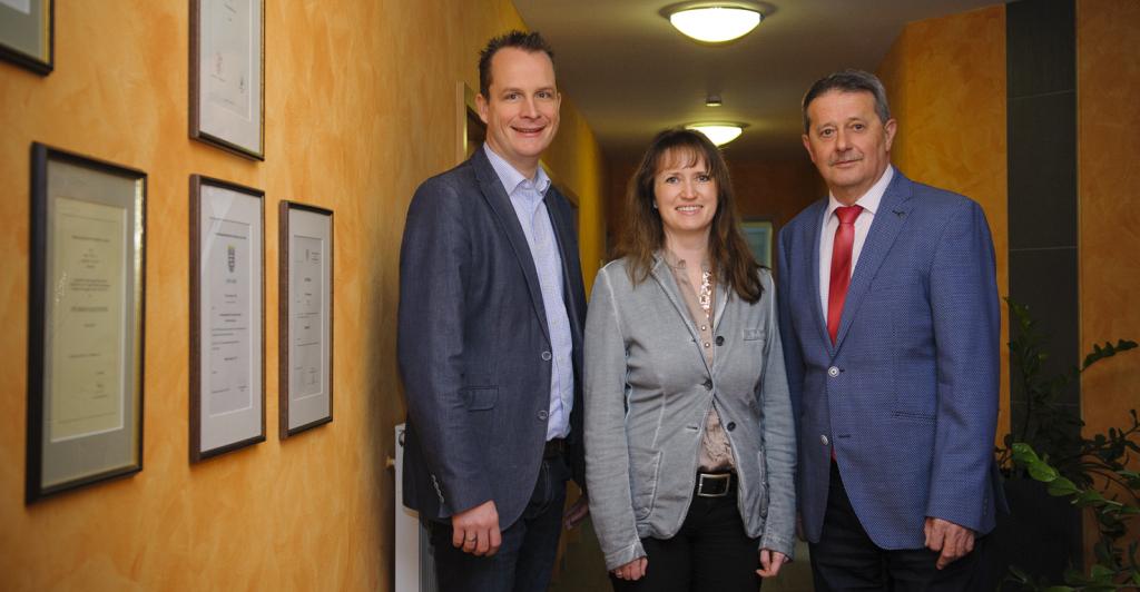 Sebastian Will, Diana Breidung und Ewald Knöll. Foto: Fotostudio Lippert