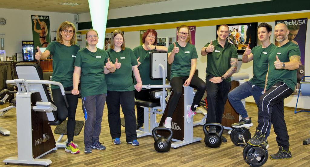 Das Team des Gesundheitszentrums Kalbach um Inhaber Alexander Birger. Foto: Fotostudio Lippert