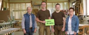 (von links): Dieter Raab, Marco Wiegand, Jens-Uwe und Ingried Raab. Fotos: Fotostudio Lippert