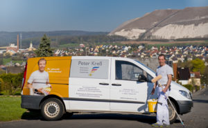 Peter Kreß feiert zehnjähriges Bestehen seines Malerbetriebs. Foto: Fotostudio Lippert