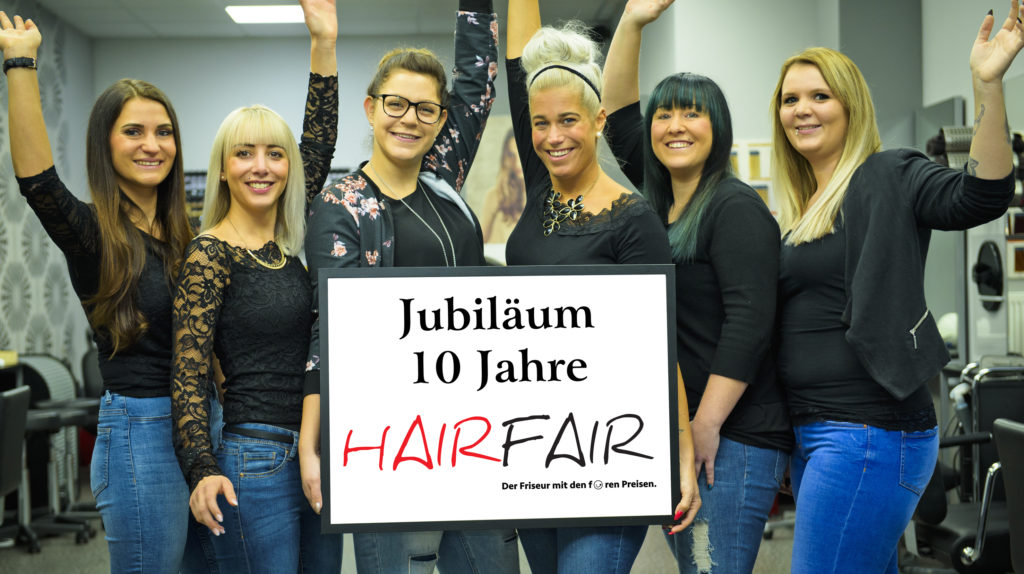 Reinkommen, Drankommen: Beim Team von HairFair. Foto: Fotostudio Lippert